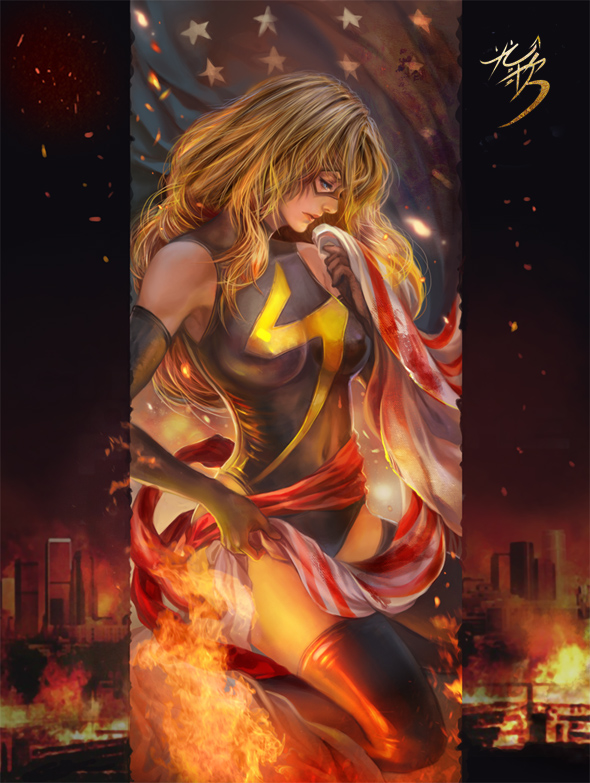 ms_marvel_fan_art_by_jiuge-d4ig6zd