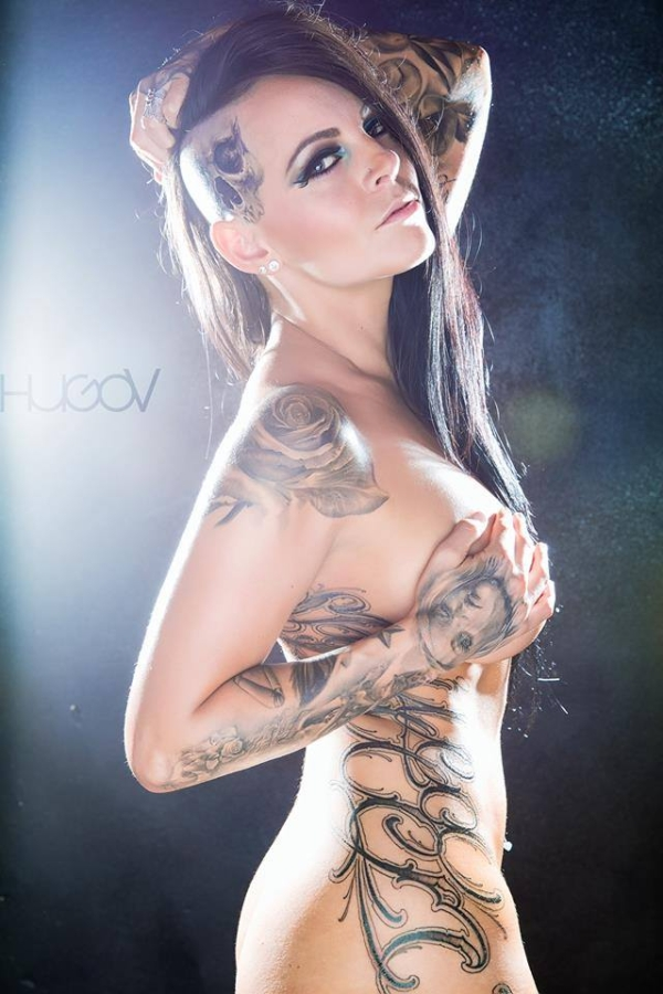 Model Ashley Lauren. Shot by HUGO V PHOTOGRAPHY.
