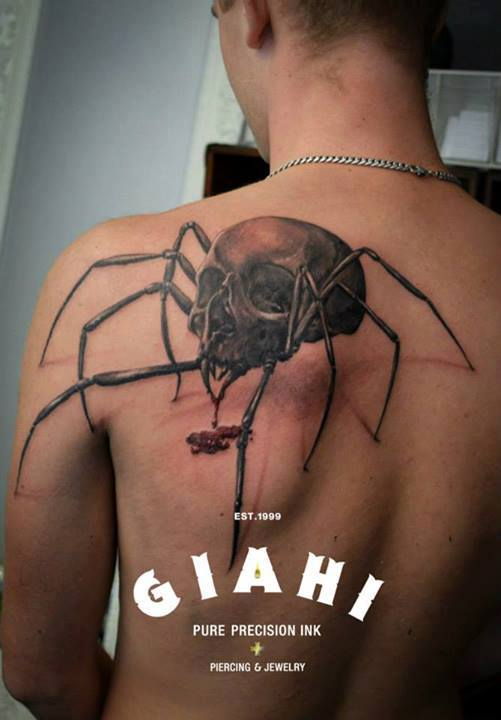 Tattoo by Giahi Artist Kurt!