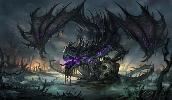 Black Dragon by Sandara