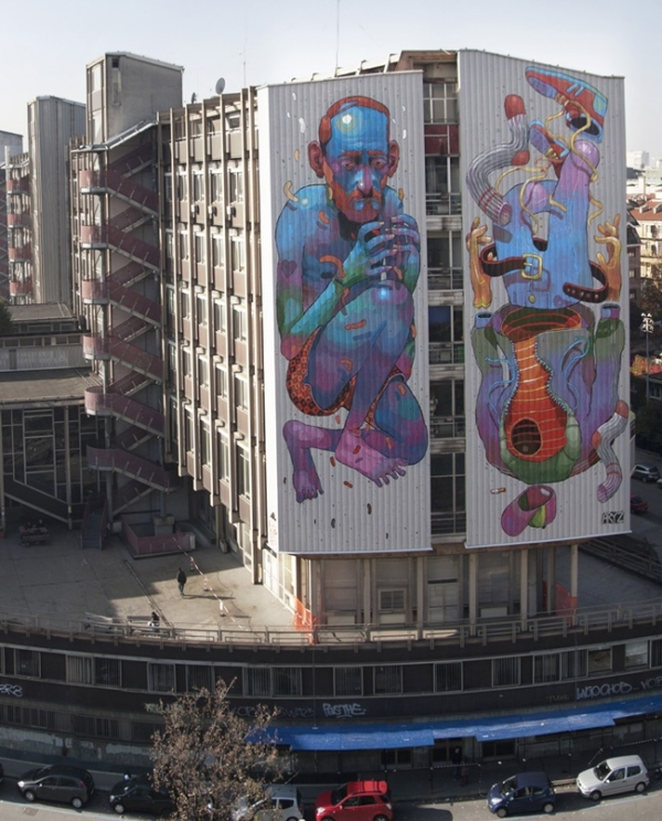 Street art | Aryz, Spain + Italy - unurth