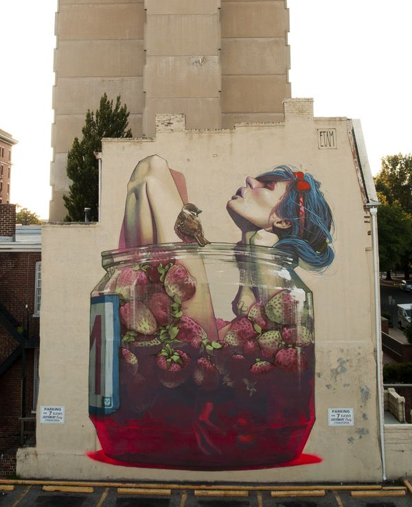 MOONSHINE - Richmond, USA. Walls 2013 by Sainer