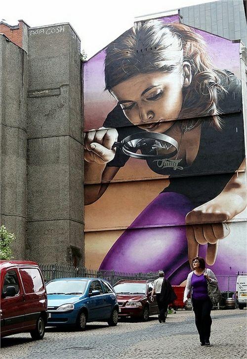 Top 10 Street Art em Edifícios | Veja Mais Fotos
