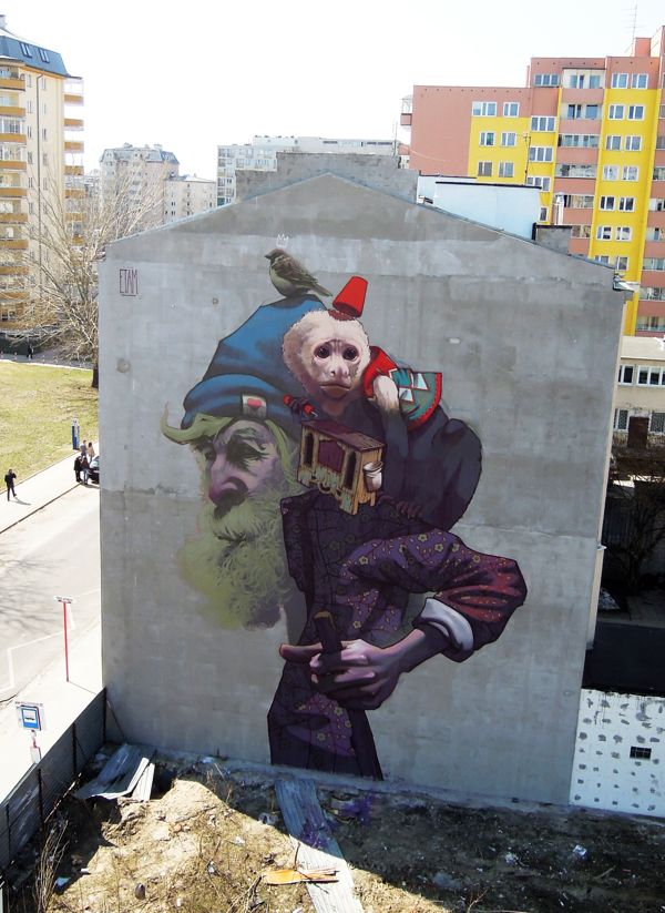 MONKEY BUSINESS - Warsaw, Poland. Walls 2013 by Sainer