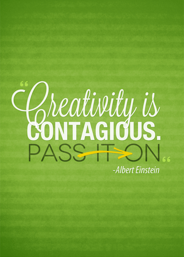 Albert Einstein-Typography Quotes by SaraFro