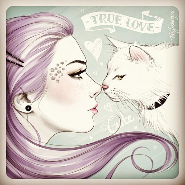 True Love - Illustration by Tati Ferrigno