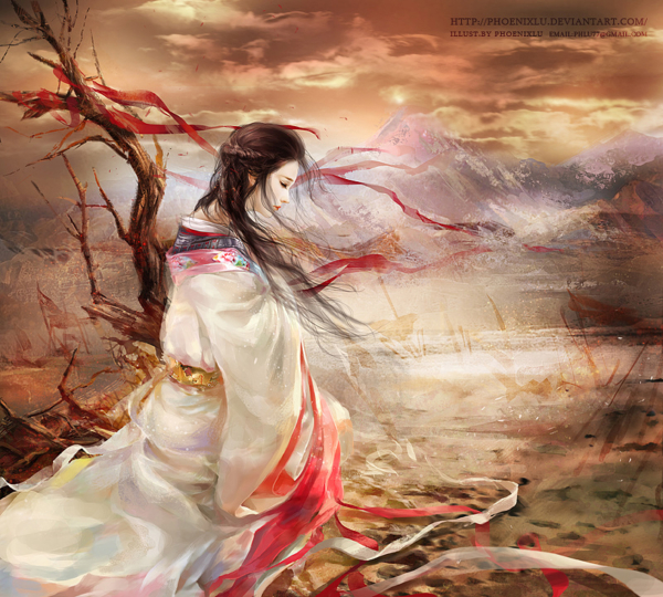 digital illustrations by phoenix lu magic art world