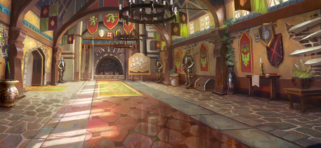 Anime Background Landscape Illustrations