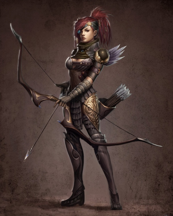 amazing illustrations of warriors magic art world