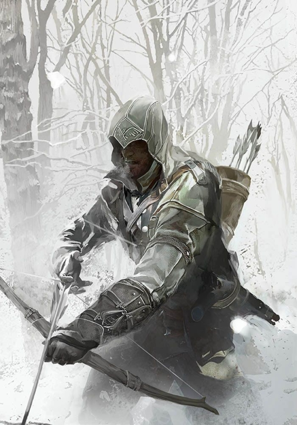 Characters Art - Assassin's Creed III