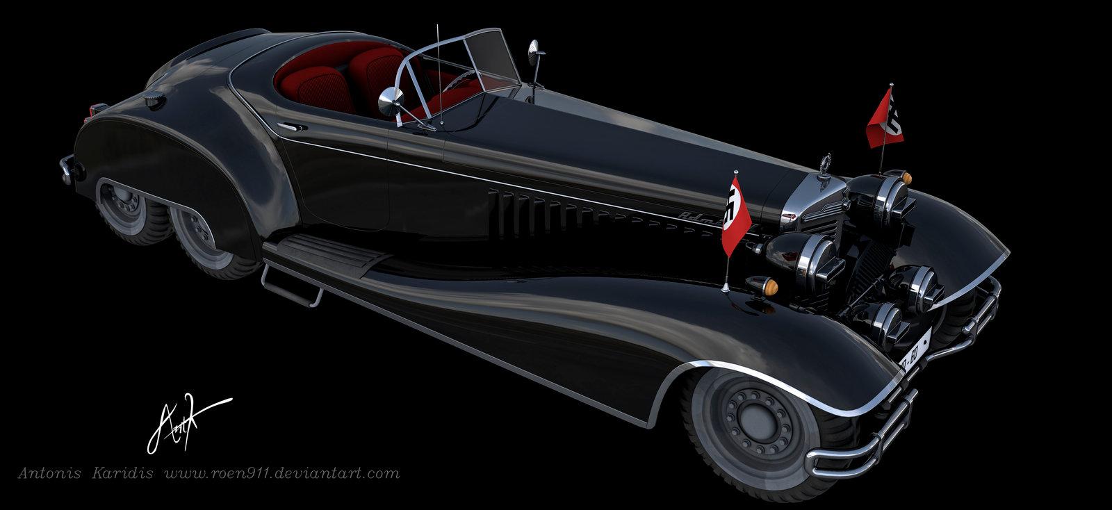50s Chevy Truck >> 3D Vehicle Design by Antonis Karidis | Magic Art World