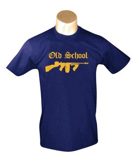dd7a5b30d4262ef93c8b063dbb908db2 Old School - Navy Men's T-shirt