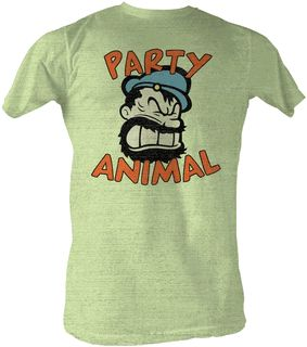 e082faaa599325f7a24b25932fe9bc93 Partay Animal Mens Soft Tee