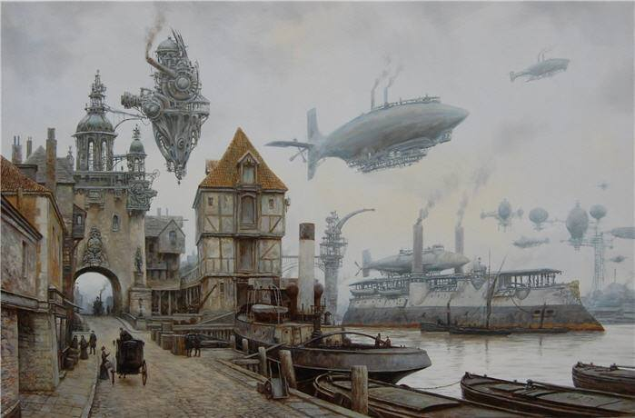 Sci-Fi art by Vadim Voitekhovitch (Voitv)  Magic Art World