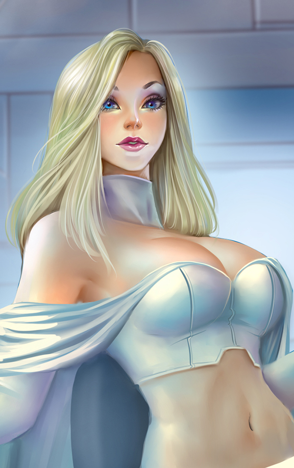 comics girls emma frost - photo #24