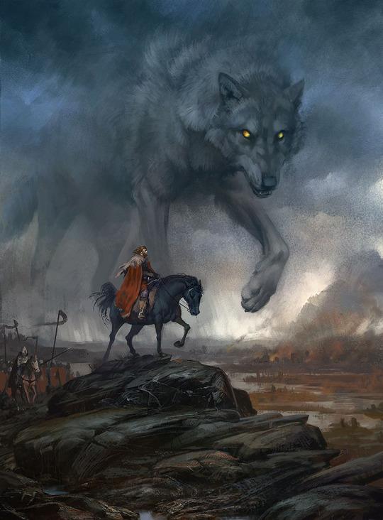 Wolf Strider by Valeria Lutfullina