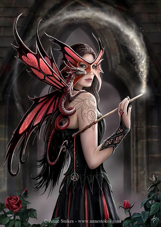 Exotic Fantasy Fairies - Fairy Art - Pictures of Fairies - Fairies Illustrations