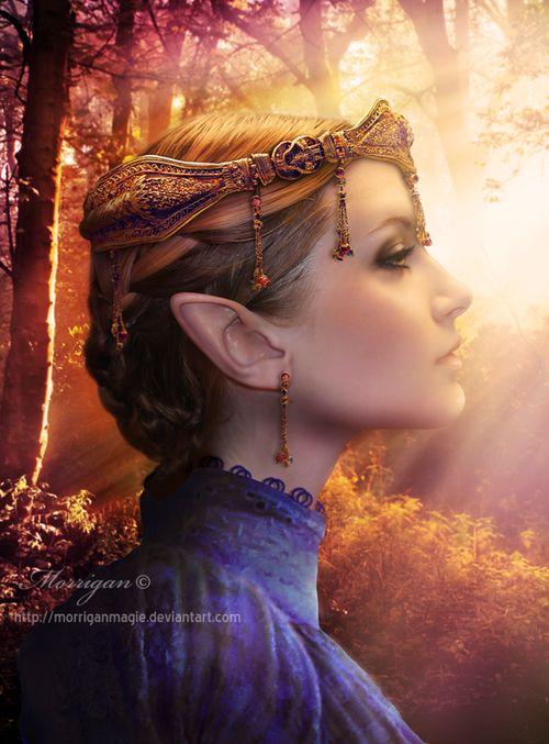 Queen of the Elves by morrigan magie