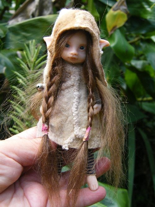 Sweet posable pixie fairy fairie ooak