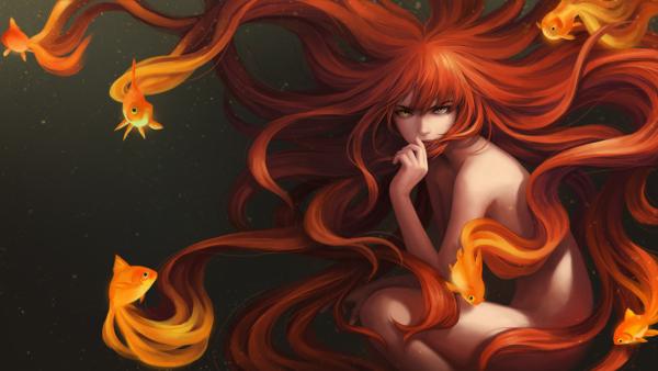 goldfish_girl_by_unodu-d7okeml
