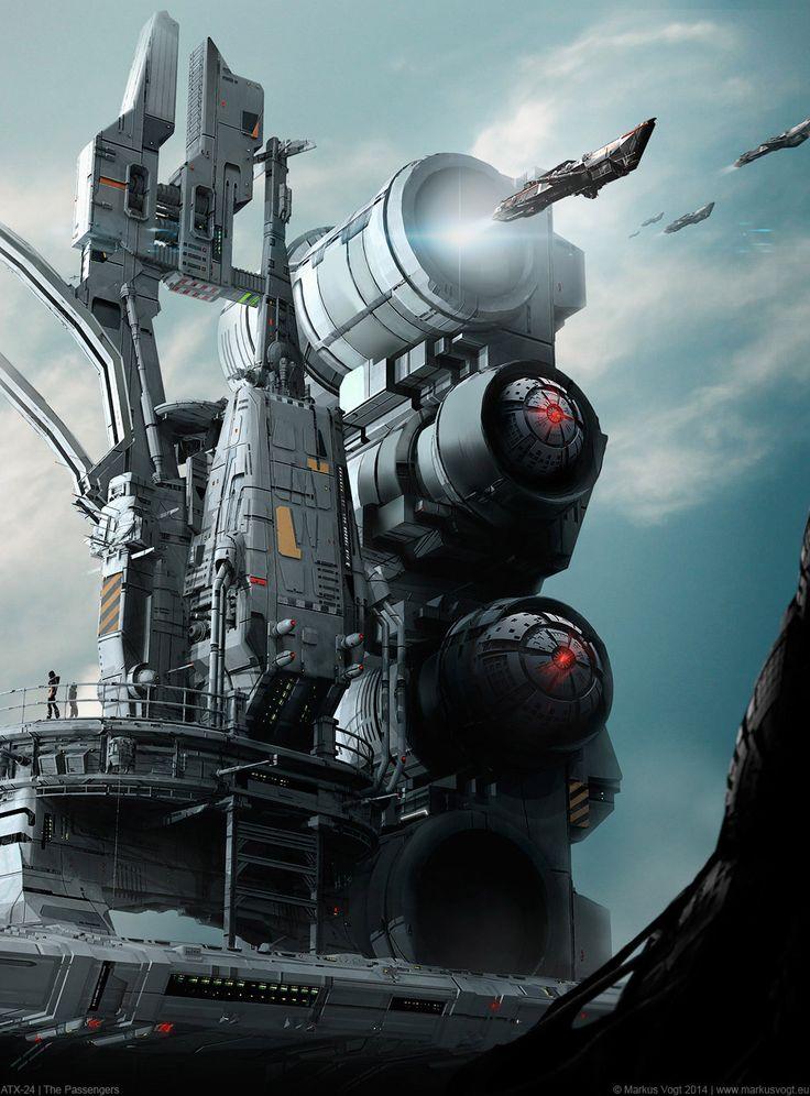Sci-Fi Art Tour – Inspirations #03# | Magic Art World