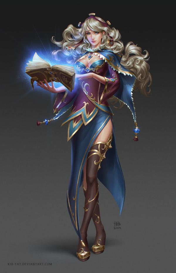 sorceress_by_kir_tat