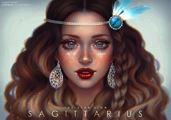 Sagittarius - The star by Serafleur