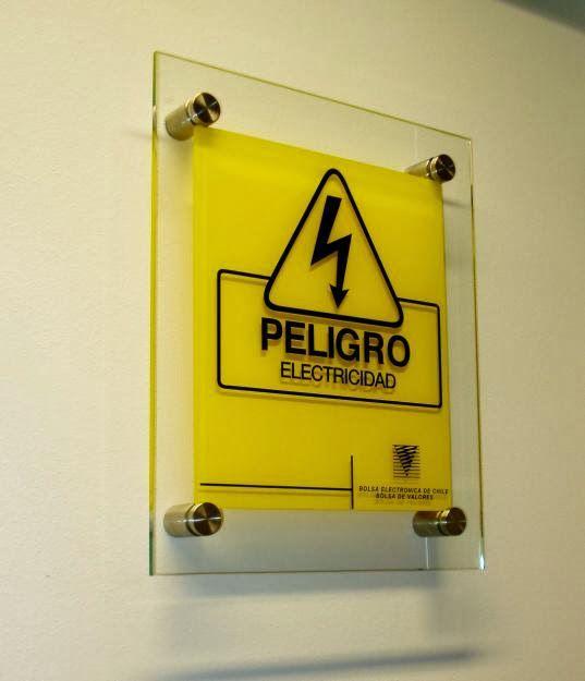 Peligro Electricidad - Sign