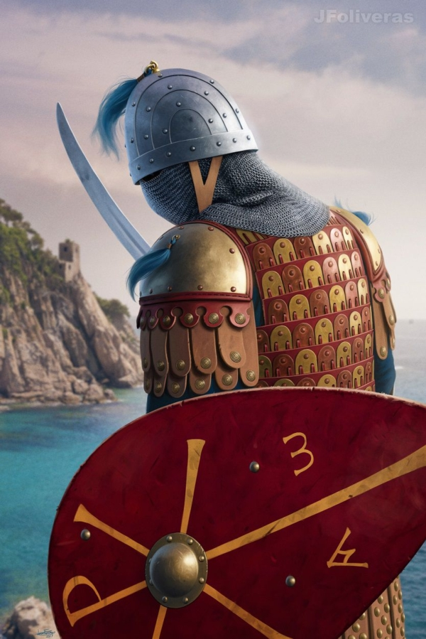 Vikings Characters by JF Oliveras | Magic Art World