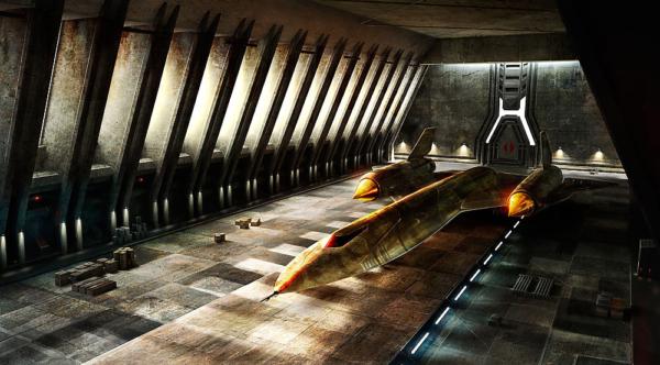 Airplanehangar - Concept Design