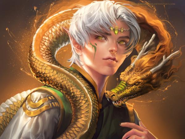 Dragon Boy by Ssakimichan