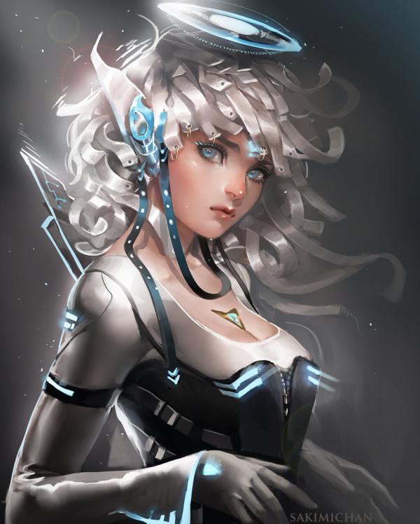 Si_fi Elf by Sakimichan