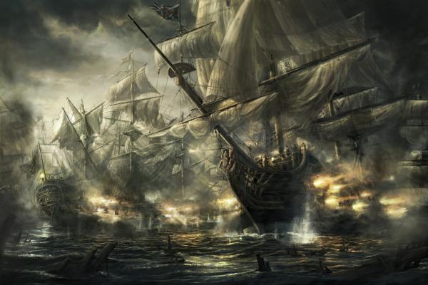 HMS_Royal_George_by_Radojavor