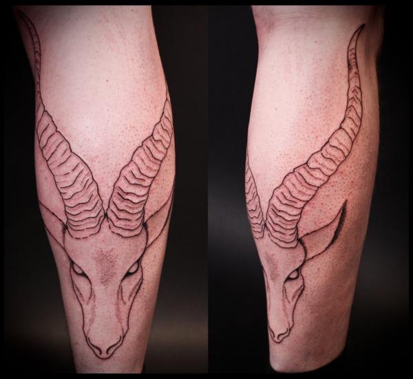ibex_tattoo_by_jotuntroll-d3gaz36