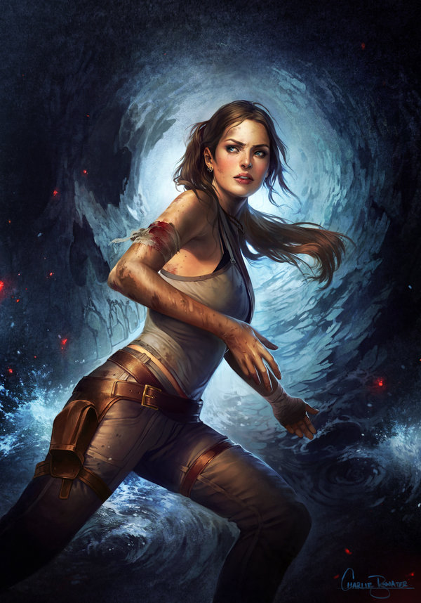 tomb_raider_by_charlie_bowater-d5xzpjd