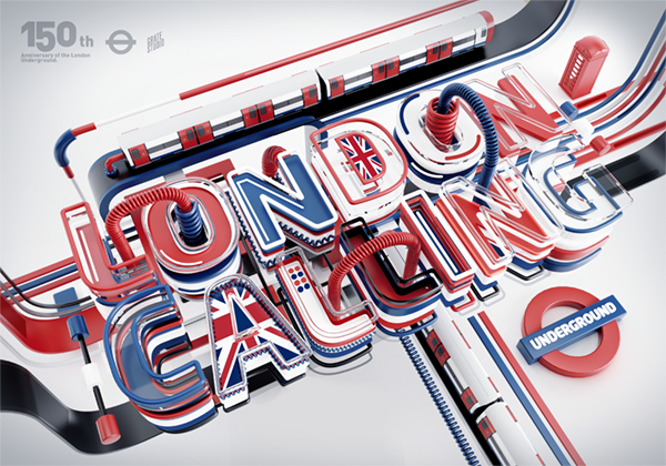 Typography art by Peter Tarka
