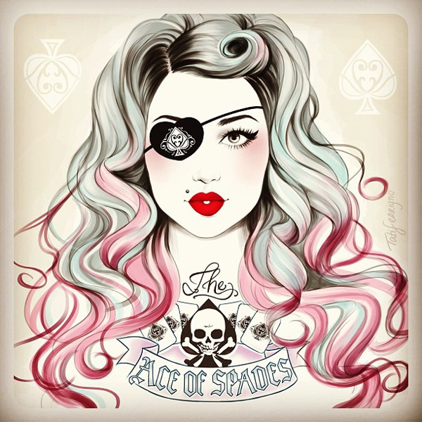 The Ace of Spades - Illustration by Tati Ferrigno