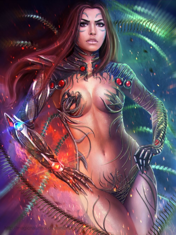sara_pezzini___witchblade_by_magicnaanavi-d6i8o9a