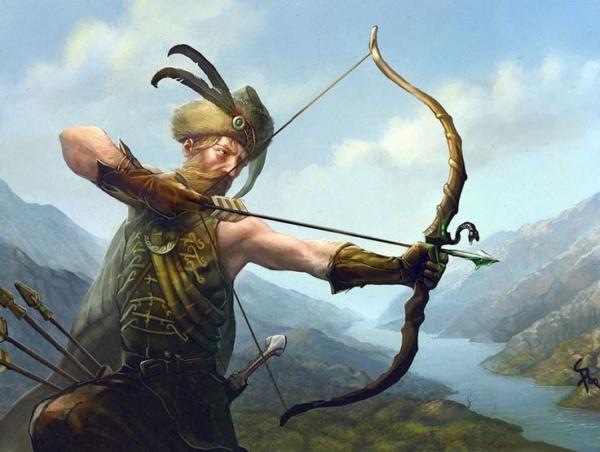 Highlander Archer by CG-Zander