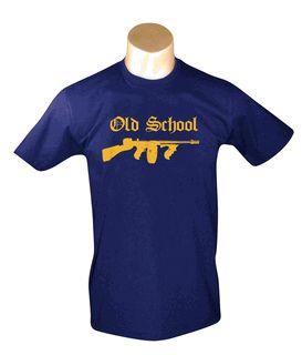 dd7a5b30d4262ef93c8b063dbb908db2 Old School - Navy Men's T-shirt