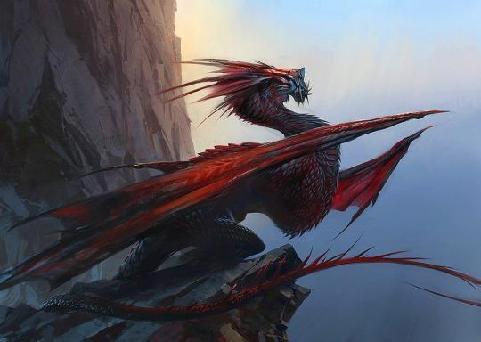 Elder Red Dragon by Guild Wars Art Team