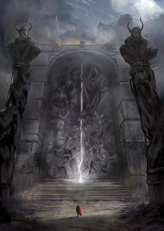 The Gates of Amhrak by jordangrimmer