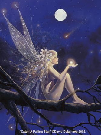 Another one of my favorite Delamare's - Catch a Falling Star.
