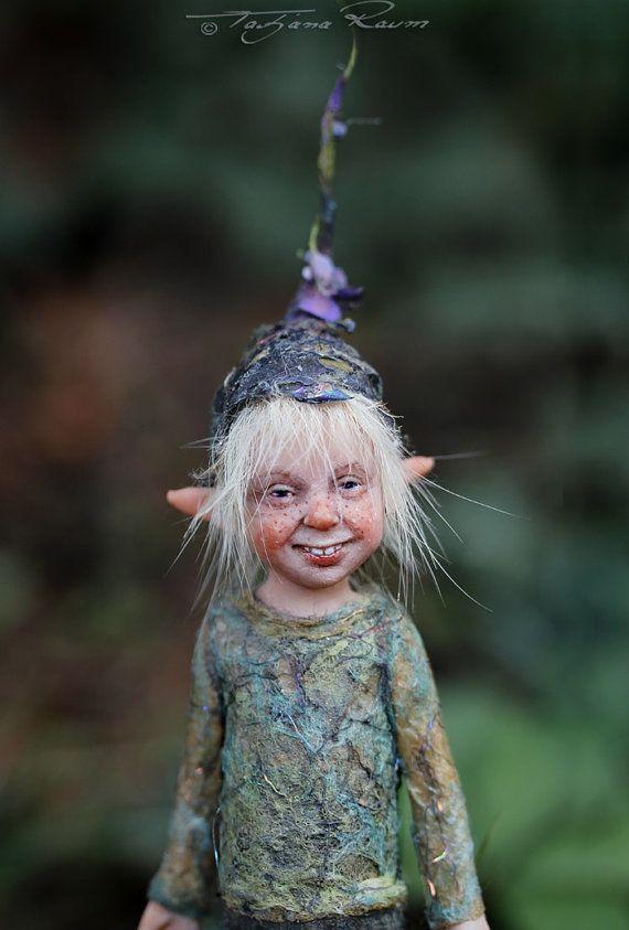 I think what I love about Little pixie Matze OOAK made by Tatjana Raum