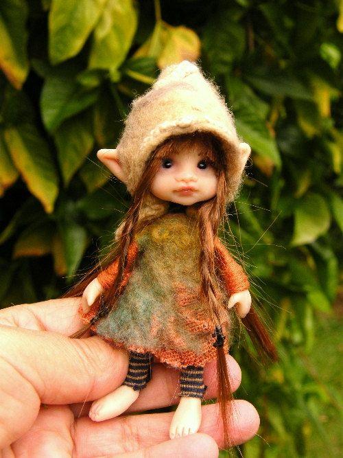 Sweet posable pixie fairy fairie ooak (2)