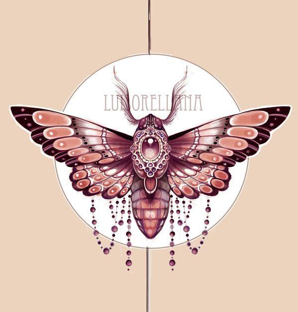 efacb2b5d79b7 Moth Deign for a Customer by Mojoncio on DeviantART.  448cf4c93c08db39ffa0c38761d67c47