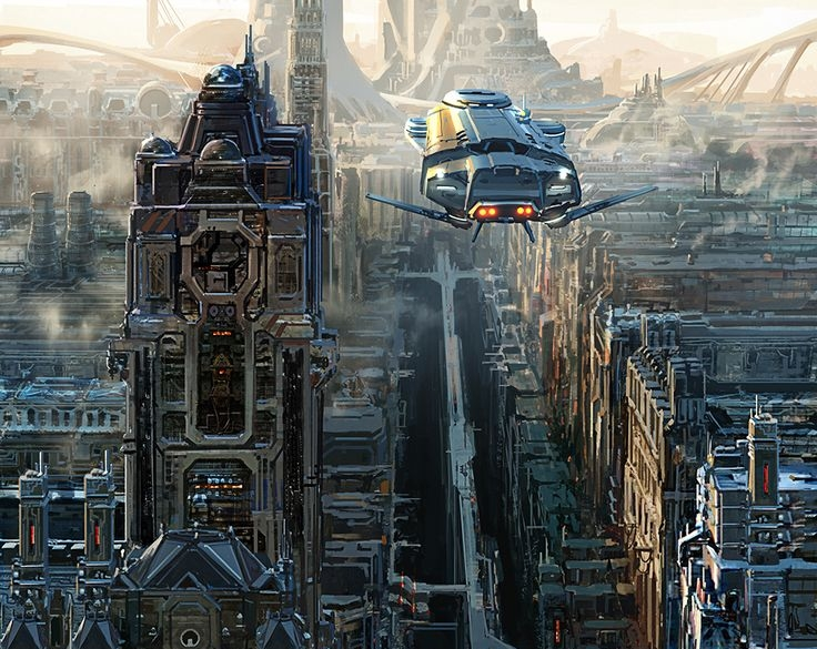 Sci-Fi Art Tour – Inspirations #01#