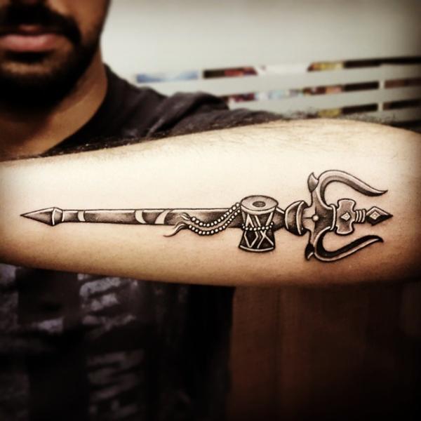 Great Shiva tattoo by Parmeet Singh