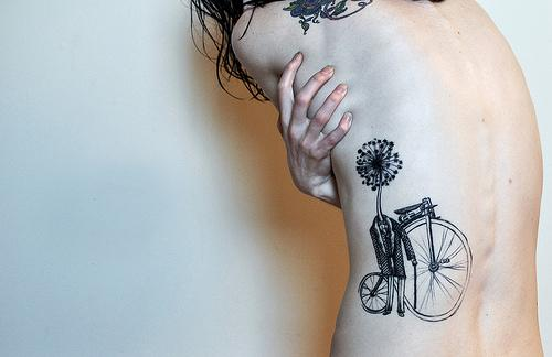 Smaller Bike Tattoo