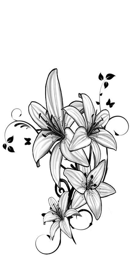 Lillie tattoo desgin